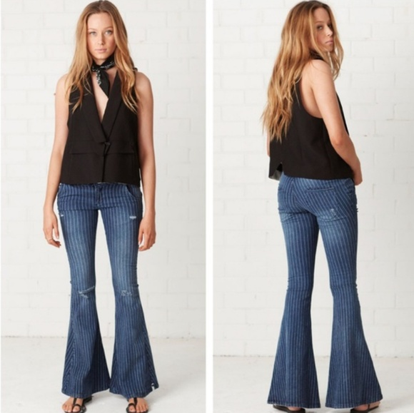 100% authentic 100% high quality brand quality {NWT} One x One Teaspoon • Park Lane Flare Jeans NWT